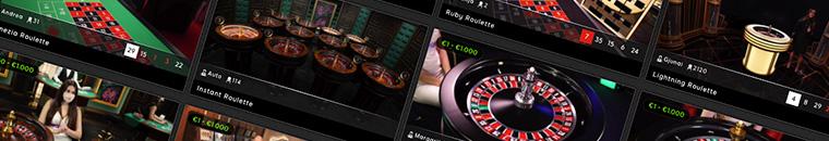 Giochi di roulette su 888 Casino