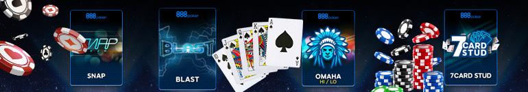 Varietà di giochi di poker