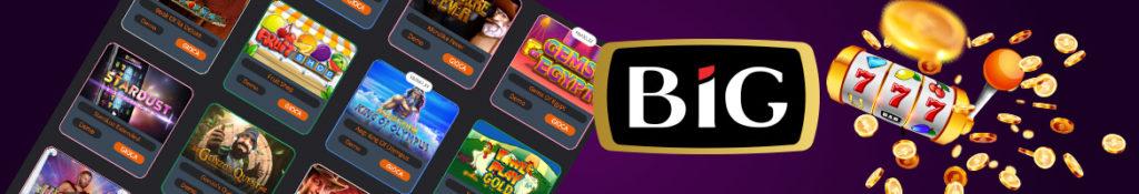 Giochi con croupier dal vivo su Big Casino