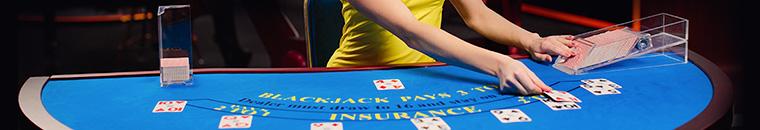 Le Varianti del Blackjack Live